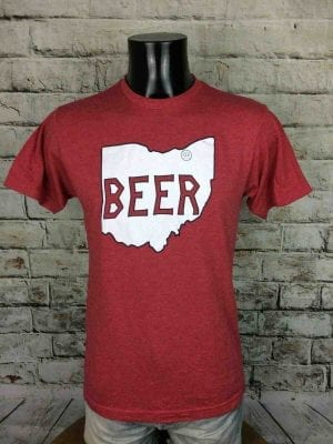BEER Brewery T-Shirt Cleveland Ohio USA 00s - Gabba Vintage