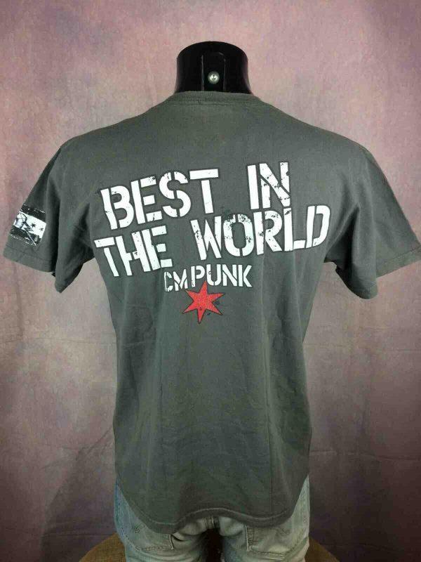 CM PUNK T Shirt In Punk We Trust WWE 2011 Gabba Vintage 4 - CM PUNK T-Shirt In Punk We Trust  WWE 2011