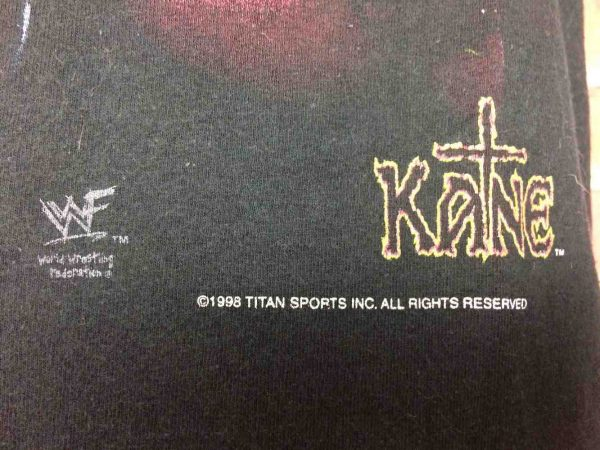 COLD STONE T Shirt Austin Undertaker 1998 Gabba Vintage 4 - COLD STONE T-Shirt Austin Undertaker 1998