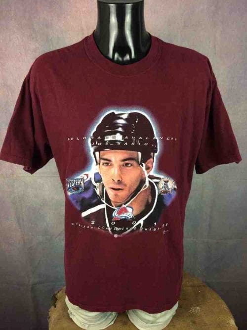 COLORADO AVALANCHE T-Shirt Joe Sakic 2001 - Gabba Vintage