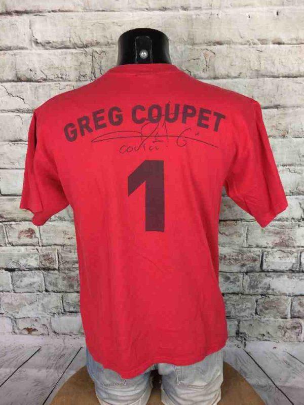 COUPET T Shirt Olympique Lyon Vintage 00s Gabba Vintage 3 - COUPET T-Shirt Olympique Lyon Vintage 00s