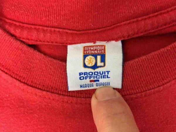 COUPET T Shirt Olympique Lyon Vintage 00s Gabba Vintage 4 rotated - COUPET T-Shirt Olympique Lyon Vintage 00s