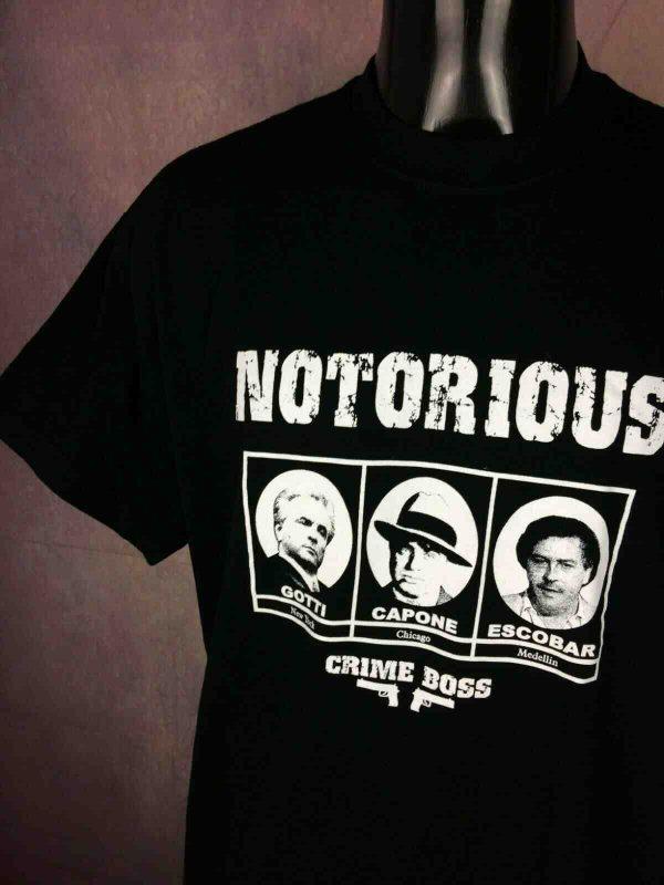 CRIME BOSS T Shirt Vintage 00s Notorious Gabba Vintage 1 - CRIME BOSS T-Shirt Vintage 00s Notorious
