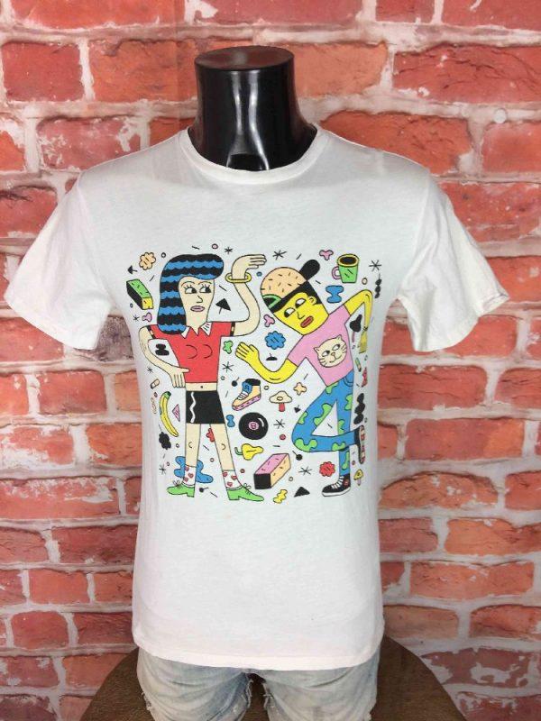 DC SHOES x ANDY REMENTER T-Shirt Pick Me Up - Gabba Vintage (2)