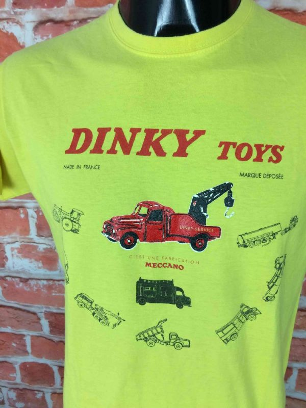 DINKY TOYS T Shirt Marque Deposee Meccano Gabba Vintage 3 - DINKY TOYS T-Shirt Marque Déposée Meccano