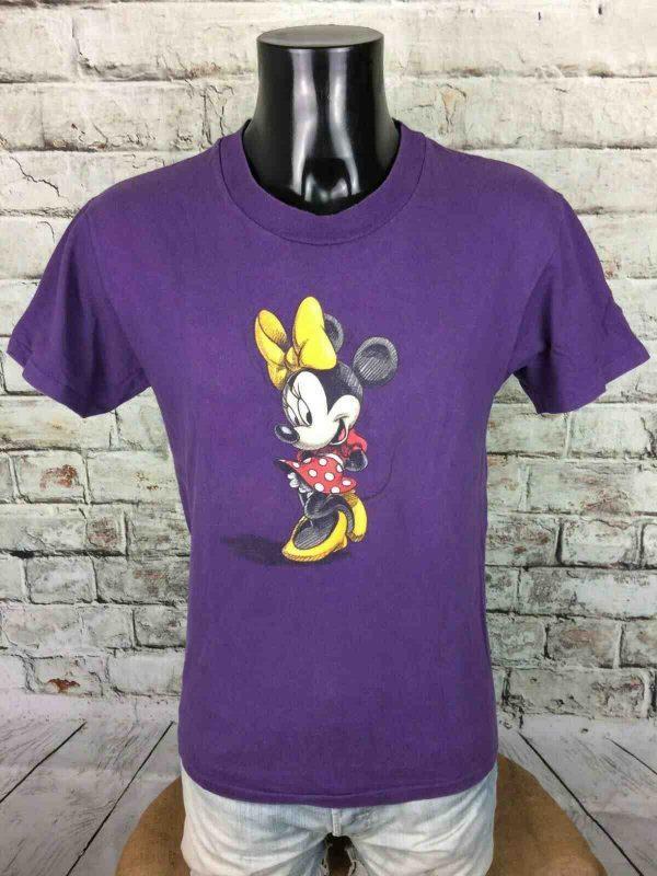 DISNEY STORE T Shirt Minnie Made in USA 1 - MINNIE T-Shirt Disney Vintage 90 Made in USA