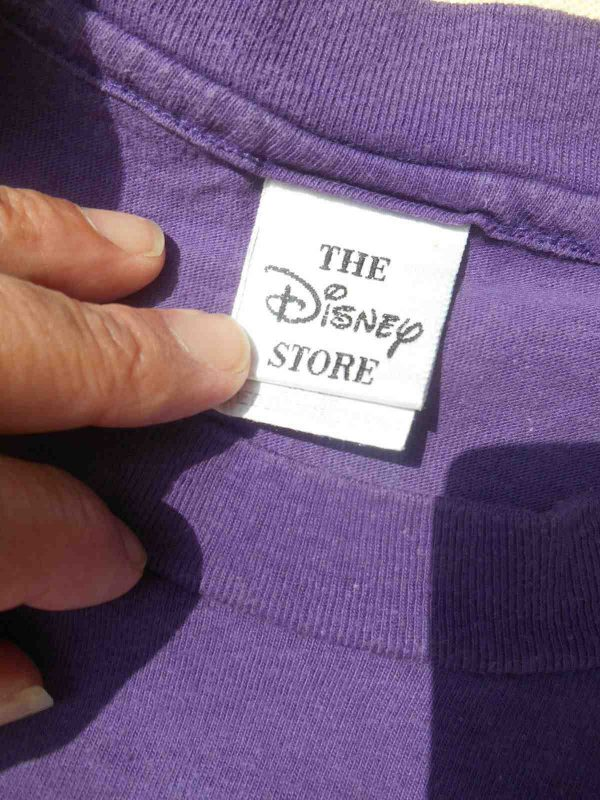 DISNEY STORE T Shirt Minnie Made in USA 57 2 - MINNIE T-Shirt Disney Vintage 90 Made in USA