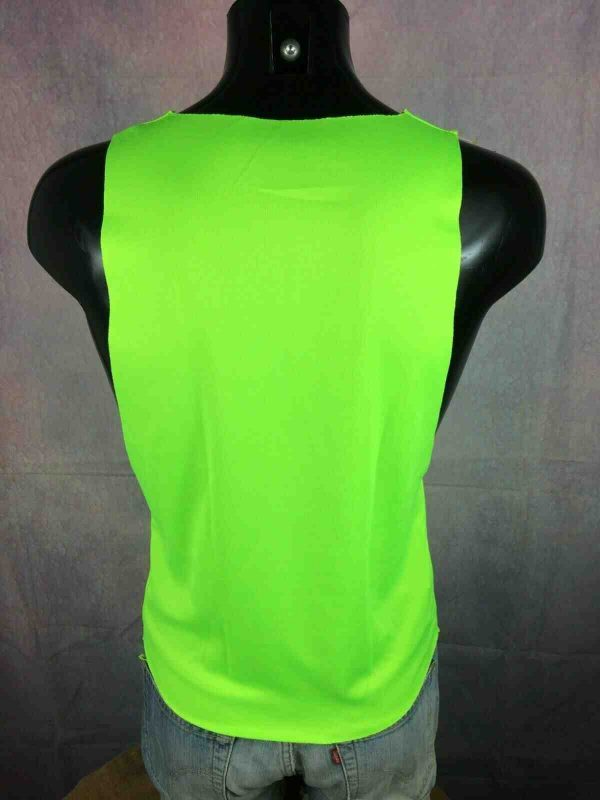 DUFF BEER Maillot Tank Top Fluo Simpsons Gabba Vintage 3 - DUFF BEER Maillot Tank Top Fluo Simpsons