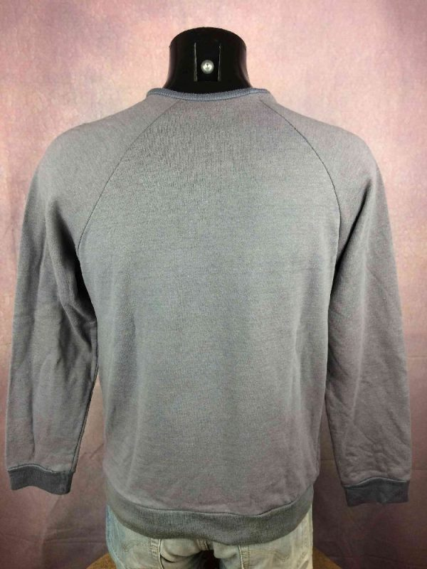 FLUSHING MEADOW SweatShirt Vintage 80s Tennis Gabba.. 1 - FLUSHING MEADOW SweatShirt Vintage 80s Tennis