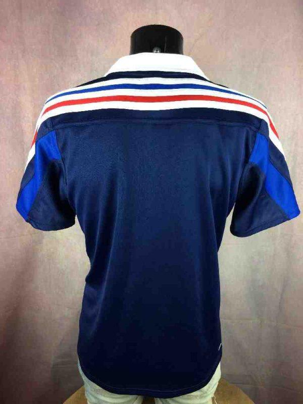 FRANCE Maillot FFR Adidas 2014 2015 Rugby Gabba Vintage 5 - FRANCE Maillot FFR Home Adidas 2014 2015 Rugby