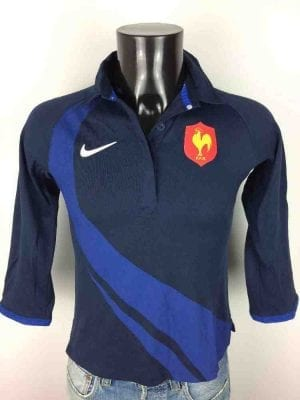 FRANCE Maillot FFR Nike Vintage 2007 Polo WC - Gabba Vintage