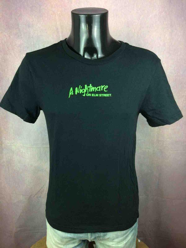 FREDDY T Shirt A Nightmare On Elm Street Gabba Vintage 2 - FREDDY T-Shirt A Nightmare On Elm Street
