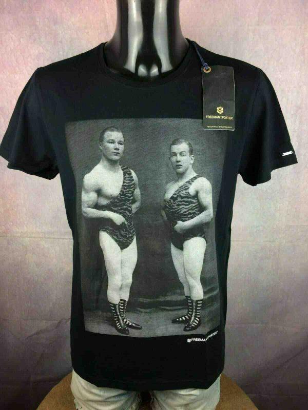 FREEMAN-T-PORTER-T-Shirt-Circus-BNWT-Neuf-Gabba-Vintage-1.jpg
