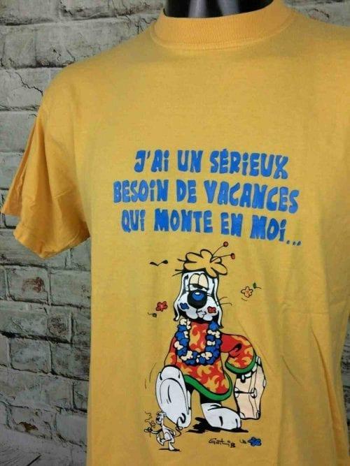 GAI LURON T-Shirt Gotlib Vintage 2002 BD - Gabba Vintage (1)