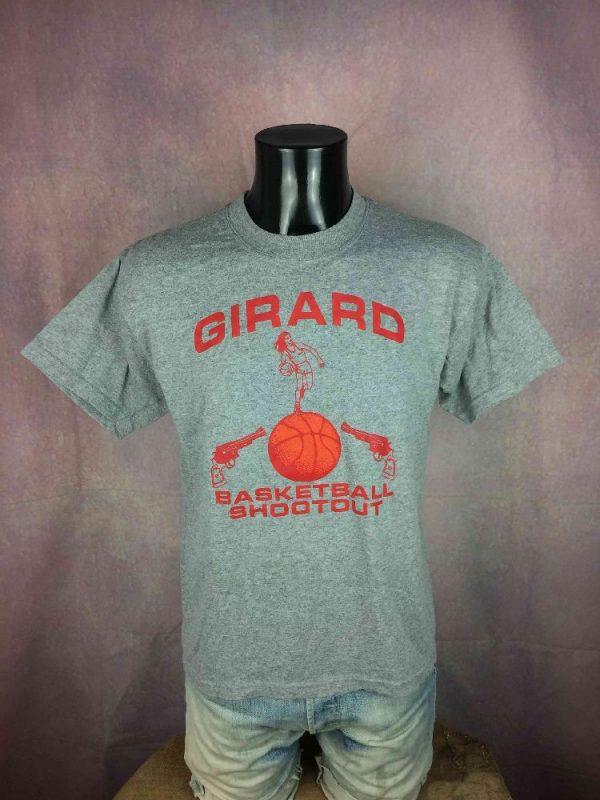 GIRARD T Shirt Basketball Shootout Vintage Gabba Vintage 2 - GIRARD T-Shirt Basketball Shootout Vintage