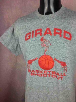 GIRARD T-Shirt Basketball Shootout Vintage - Gabba Vintage