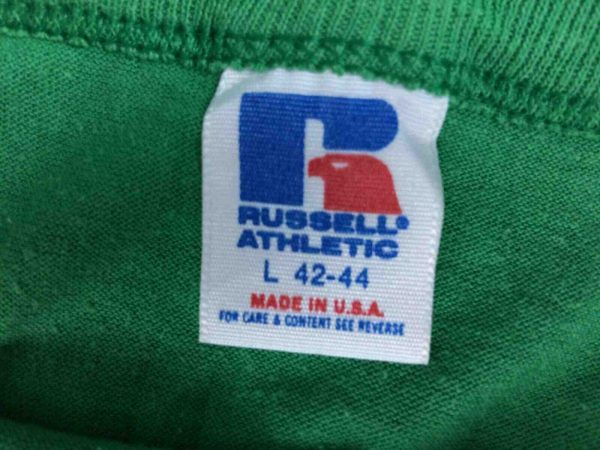 GREEN DEVIL T Shirt Made in USA Vintage 80s Gabba Vintage 3 - GREEN DEVIL T-Shirt Made in USA Vintage 80s