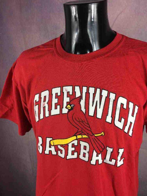 GREENWICH CARDINALS T-Shirt Vintage Baseball - Gabba Vintage