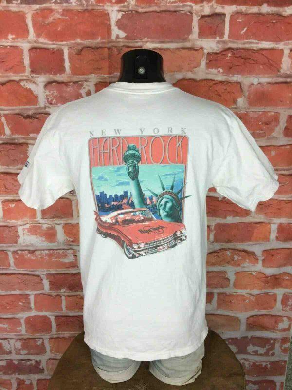 HARD ROCK CAFE T-Shirt New York Vintage 90s - Gabba Vintage (1)