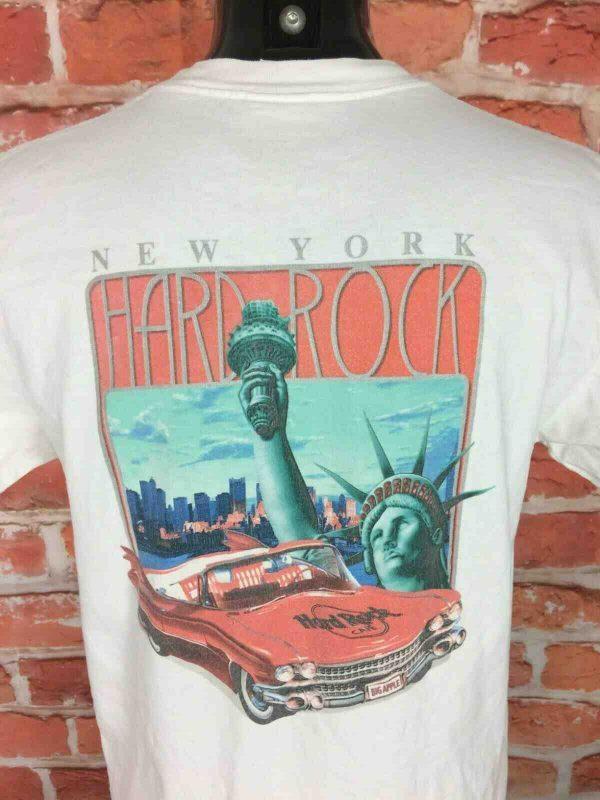 HARD ROCK CAFE T Shirt New York Vintage 90s Gabba Vintage 3 - HARD ROCK CAFE T-Shirt New York Vintage 90s