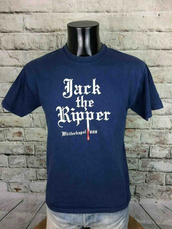 JACK THE RIPPER T-Shirt Whitechapel 1888 90s - Gabba Vintage (1)