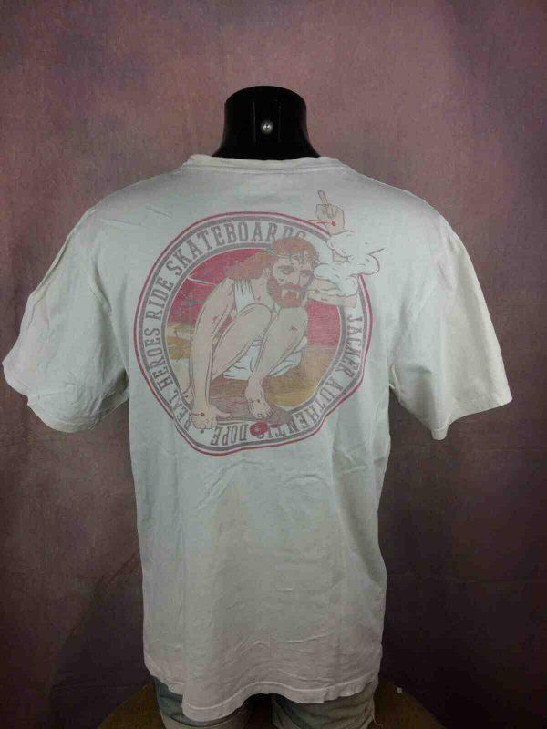 JACKER T-Shirt Cover Series Dope Skateboard - Gabba Vintage (1)