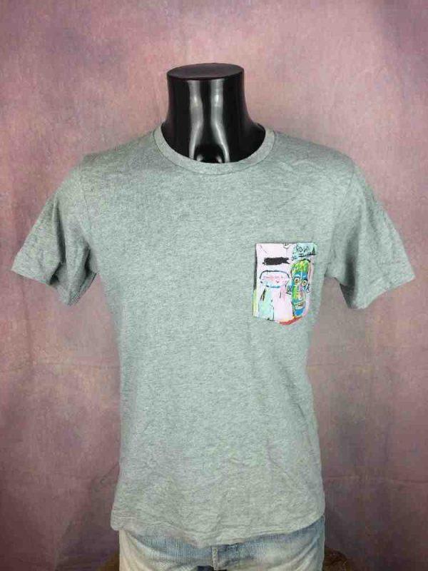 JEAN-MICHEL BASQUIAT T-Shirt Official Paint - Gabba Vintage (1)