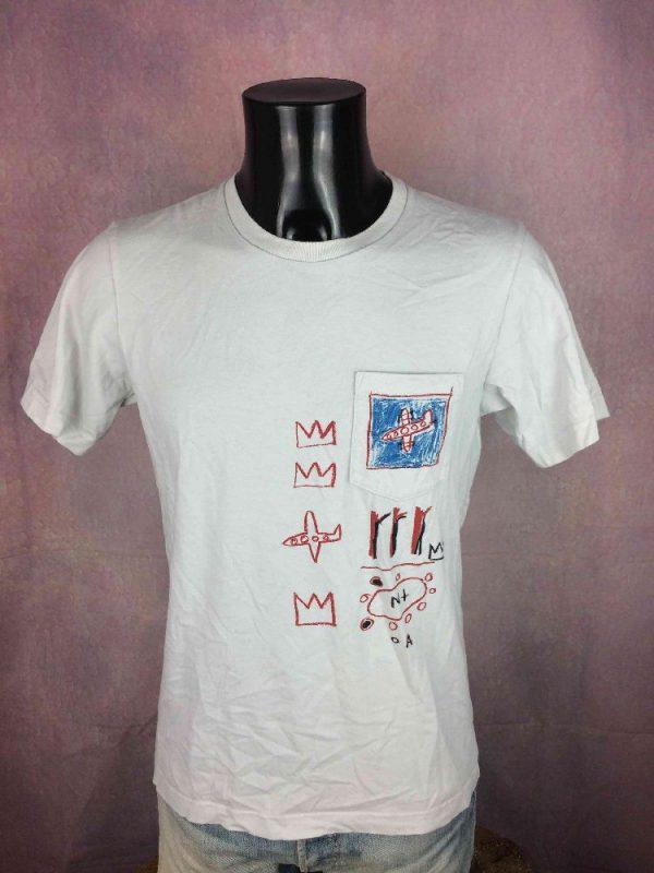 JEAN-MICHEL BASQUIAT T-Shirt Official Planes - Gabba Vintage