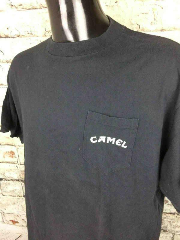 JOE CAMEL T Shirt Vintage 90s Made in USA Gabba Vintage 4 - JOE CAMEL T-Shirt  Vintage 90s Made in USA