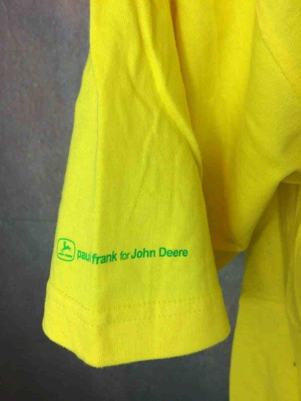JOHN DEERE T Shirt Paul Frank Tracteur Rock Gabba Vintage 2 - JOHN DEERE T-Shirt Paul Frank Tracteur Rock
