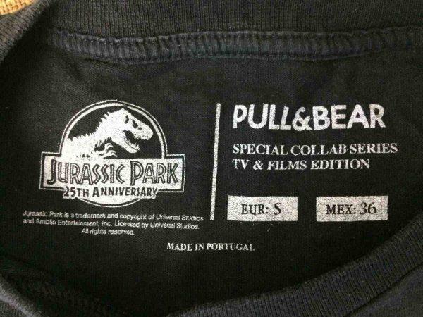 JURASSIC PARK T Shirt 25th Anniversary Logo Gabba Vintage 5 - JURASSIC PARK T-Shirt 25th Anniversary Logo