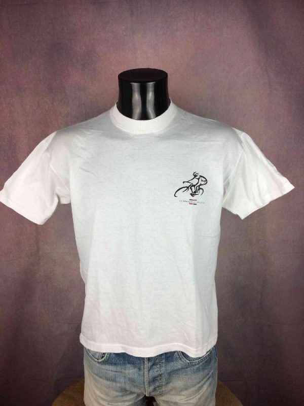 LA FRANCAISE DES JEUX Team T Shirt Vintage Gabba Vintage 2 - LA FRANCAISE DES JEUX Team T-Shirt Vintage