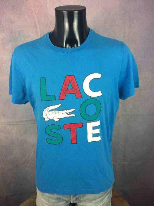 LACOSTE Sport T Shirt Devanlay Vintage 00s Gabba Vintage 1 - LACOSTE Sport T-Shirt Devanlay Vintage 00s