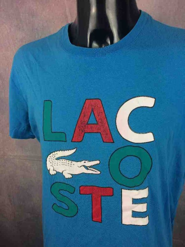 LACOSTE Sport T-Shirt Devanlay Vintage 00s - Gabba Vintage
