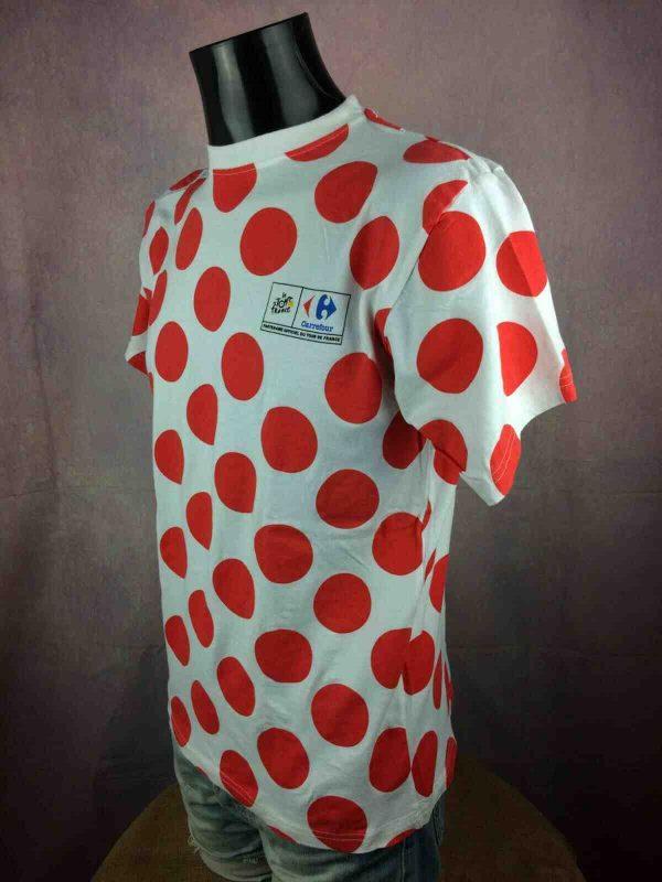 LE TOUR DE FRANCE T Shirt Maillot Pois Climb Gabba Vintage 1 - LE TOUR DE FRANCE T-Shirt Maillot Pois Climb