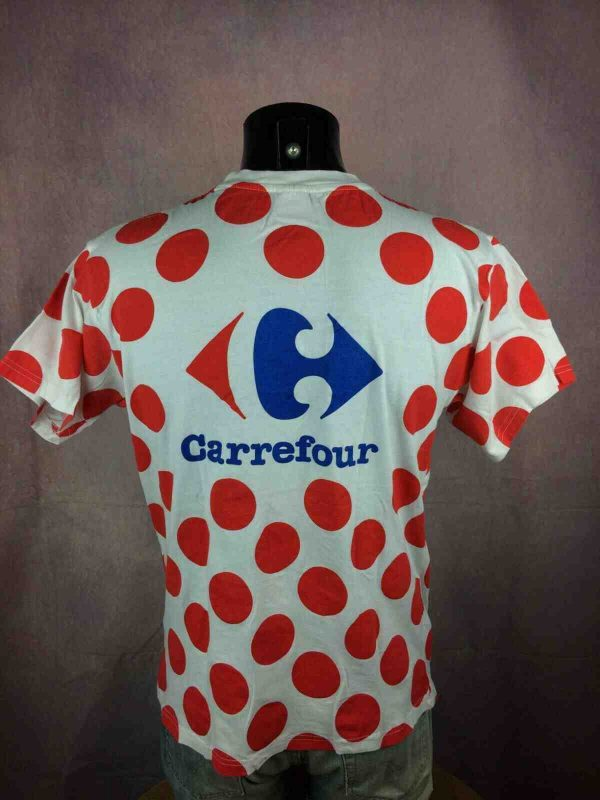LE TOUR DE FRANCE T Shirt Maillot Pois Climb Gabba Vintage 2 - LE TOUR DE FRANCE T-Shirt Maillot Pois Climb