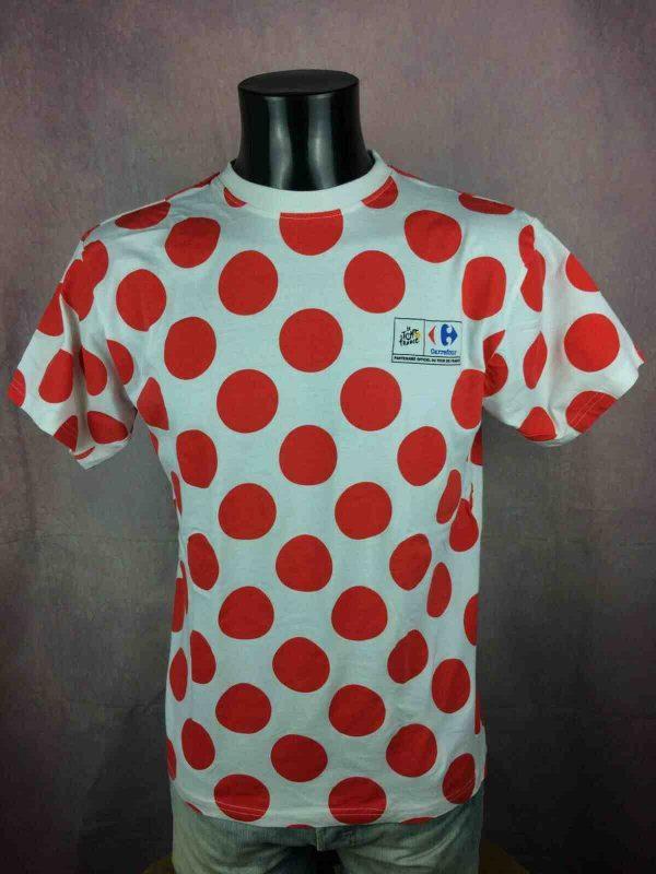 LE TOUR DE FRANCE T-Shirt Maillot Pois Climb - Gabba Vintage (3)