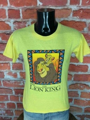 LION KING T-Shirt Vintage 90s Disney License - Gabba Vintage (1)