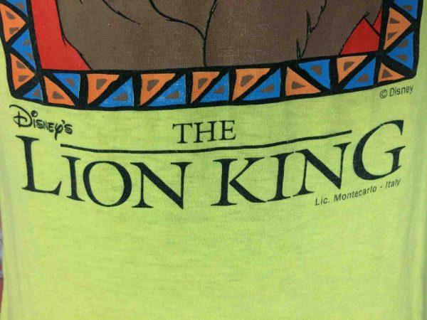 LION KING T Shirt Vintage 90s Disney License Gabba Vintage 2 - LION KING T-Shirt Vintage 90s Disney License