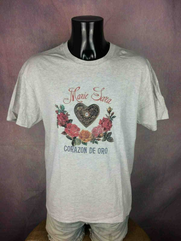 MARIE SARA T Shirt Vintage 90s Made in USA Gabba Vintage 3 - MARIE SARA T-Shirt Vintage 90s Made in USA