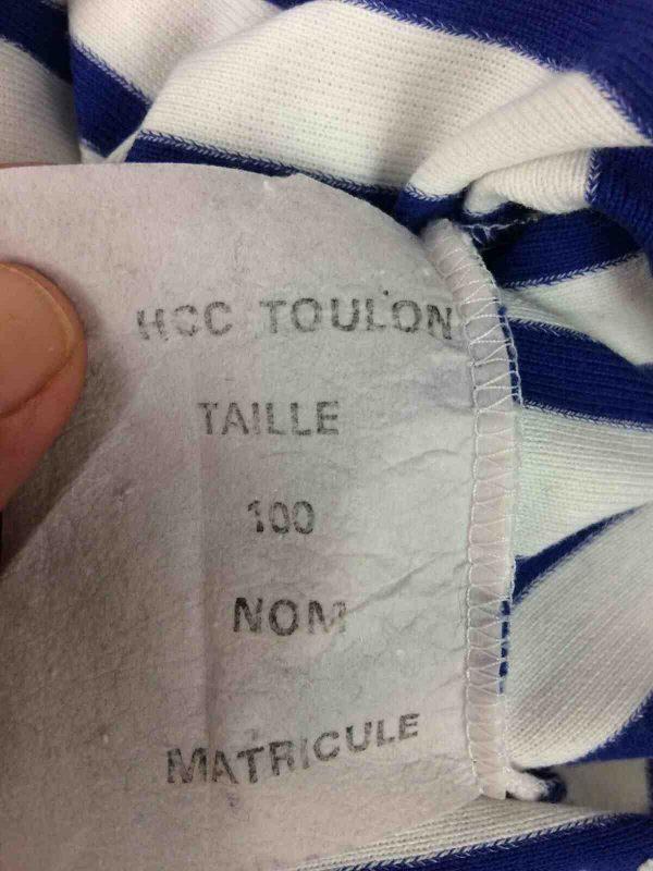MARINE FRANCAISE Mariniere HCC Toulon Armee Gabba Vintage 4 - MARINIERE Marine Francaise HCC Toulon Armée