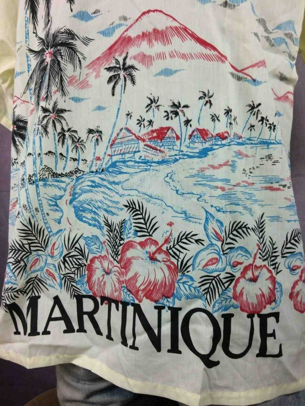 MARTINIQUE T Shirt Vintage 80s Honk Kong Made Gabba.. 2 - MARTINIQUE T-Shirt Vintage 80s Honk Kong Made