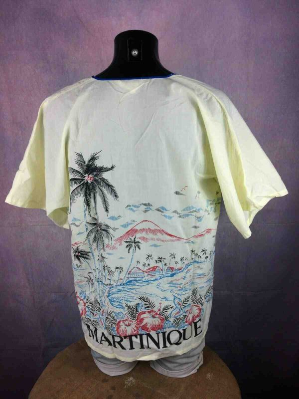 MARTINIQUE T Shirt Vintage 80s Honk Kong Made Gabba.. 3 - MARTINIQUE T-Shirt Vintage 80s Honk Kong Made