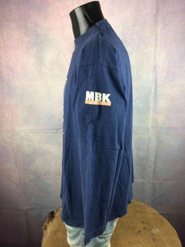 MBK T Shirt Vintage 1996 Booster Track Rare Gabba Vintage 4 - MBK T-Shirt Vintage 1996 Booster Track Rare