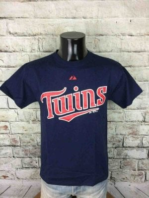 MINNESOTA TWINS T-Shirt Majestic Baseball MLB - Gabba.. (1)