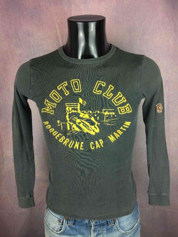 MOTO CLUB ROQUEBRUNE CAP MARTIN T-Shirt 80s - Gabba Vintage