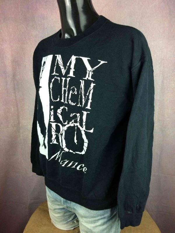 MY CHEMICAL ROMANCE Sweatshirt Hanging Unisex Gabba.. 3 - MY CHEMICAL ROMANCE Sweatshirt Hanging Unisex