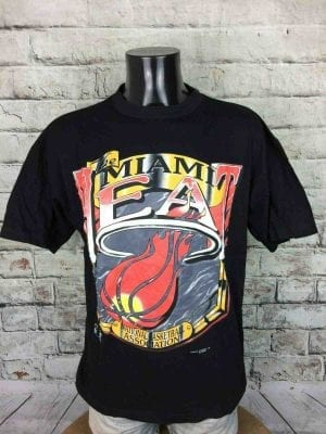Magic Johnson Ts T-Shirt Miami Heat Vintage - Gabba Vintage (2)