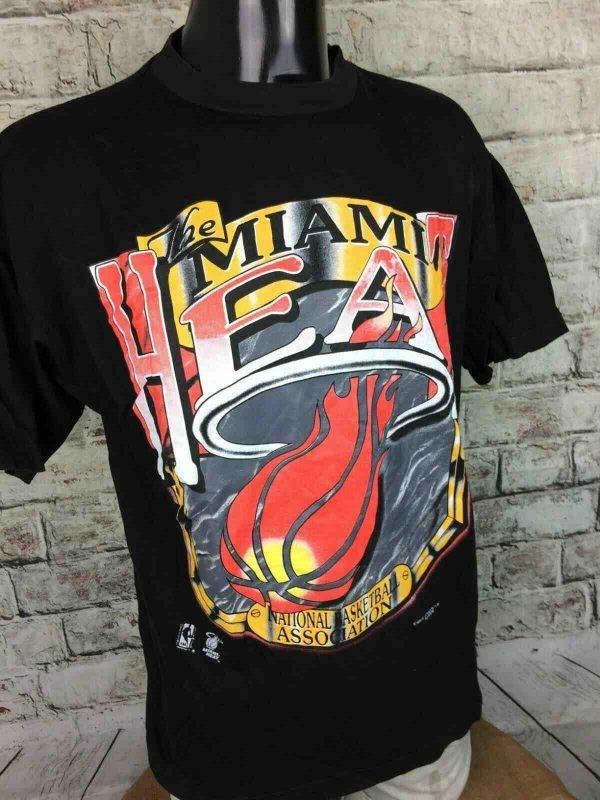 Magic Johnson Ts T Shirt Miami Heat Vintage Gabba Vintage 3 - Magic Johnson Ts T-ShirtMiami Heat Vintage 90s