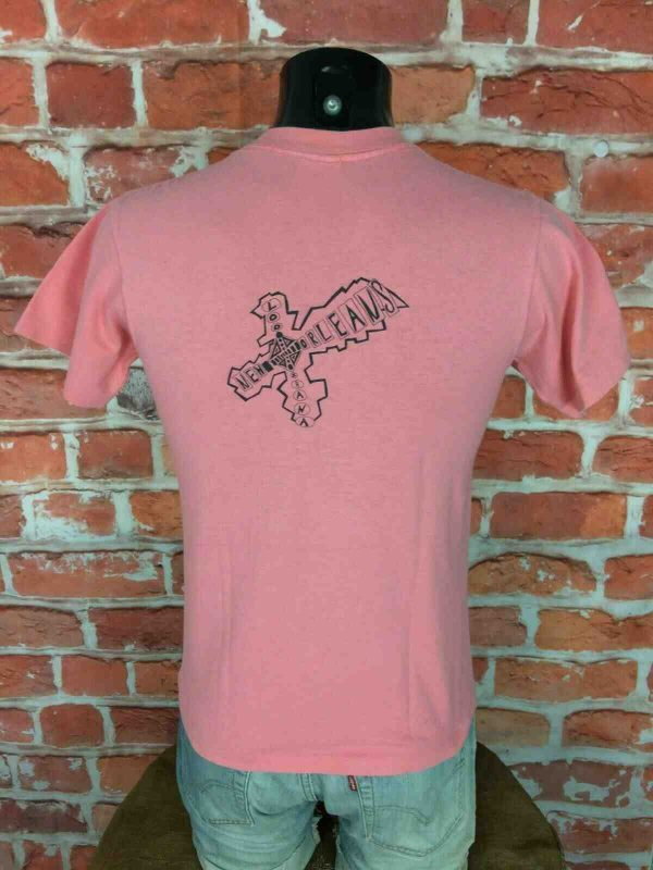 NEW ORLEANS T Shirt Vintage 90s Made in USA Gabba Vintage 2 - NEW ORLEANS T-Shirt Vintage 80s Made in USA